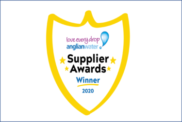 Two big wins from the Anglian Water Supplier Awards 2020