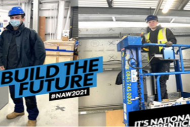 National Apprenticeship Week: 'It takes a village' when you're trying to build the future.'