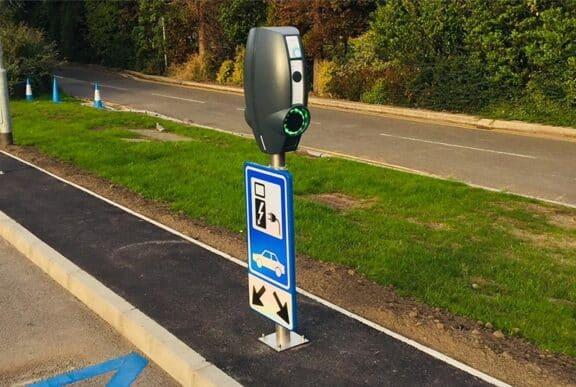 EV charging points installation