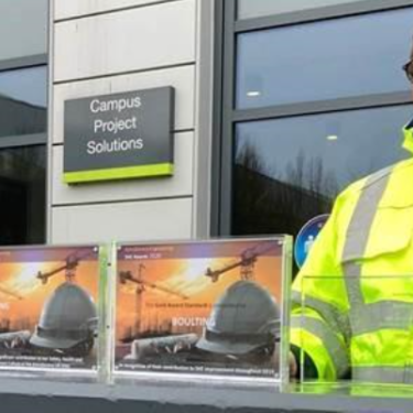 Three awards received from AstraZeneca for 2020 safety performance at Macclesfield site.