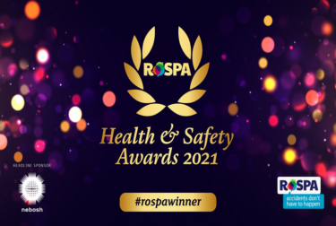 BGEN receives RoSPA Gold Award for health and safety achievements